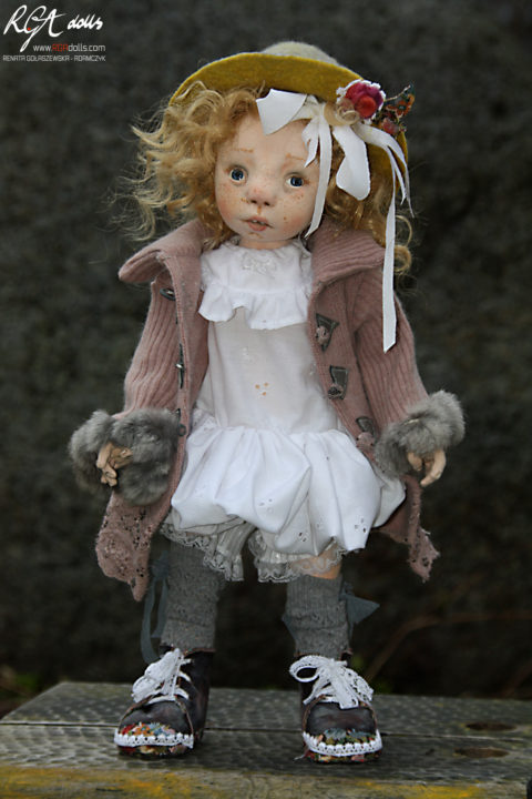 Cela - ONE OF A KIND doll by Renata Gołaszewska-Adamczyk