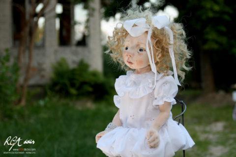 Cela - ONE OF A KIND doll by Renata Gołaszewska-Adamczyk